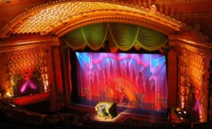 The proscenium at the El Capitan Theatre in Hollywood, CA. Photo credit: Disney Enterprises, Inc.