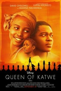 "Disney's ""Queen of Katwe"" poster. Image courtesy of Disney Enterprises, Inc."