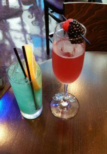 """(L-R) The """"Endless Summer"""" and """"The Eliza"""" are 2 of 7 new cocktails offered by ArcLight Cinemas."""