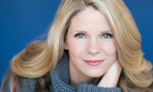 Kelli O'Hara performed a successful 90-minute solo set on Friday, October 14th,  at the Valley Performing Arts Center in Northridge, Calif. Photo courtesy of the Valley Performing Arts Center.