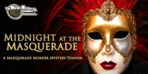 """Midnight at the Masquerade"" is currently the show playing at The Murder Mystery Co.'s Los Angeles location. Image credit: The Murder Mystery Co."