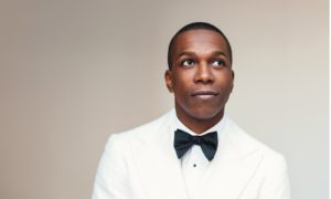 """Leslie Odom, Jr. of """"Hamilton"""" fame performed for a packed house at the Valley Performing Arts Center on Nov. 17th in Northridge, Calif.  Photo courtesy of Christopher Boudewyns"""