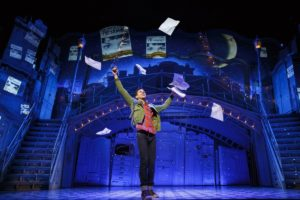 "Adam Chanler-Berat as Nino in ""Amélie, A New Musical"" at the Ahmamson Theatre in Los Angeles. Photo credit: Joan Marcus"