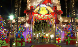 """Universal Studios Hollywood's """"Grinchmas,"""" which runs through January 1st, offers a fun Who-bilation of Dr. Seuss' festive world. Photo courtesy of Universal Studios Hollywood"""