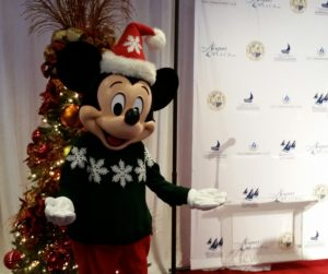 Mickey Mouse is appointed the opening night Grand Marshal of the Newport Beach Christmas Boat Parade at the Balboa Bay Resort on December 14th.
