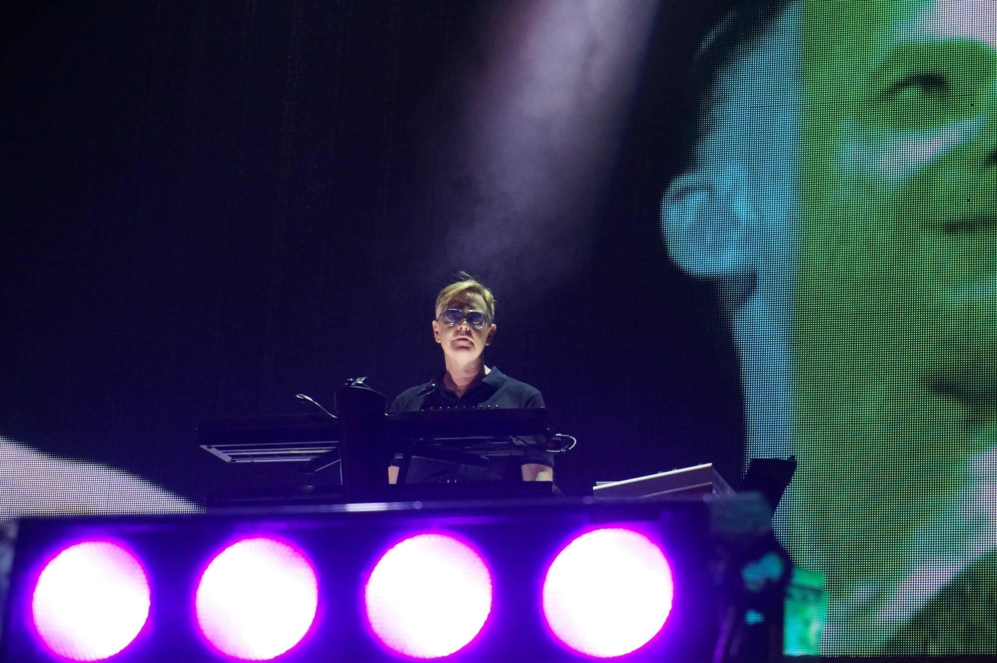Depeche Mode at the Santa Barbara Bowl