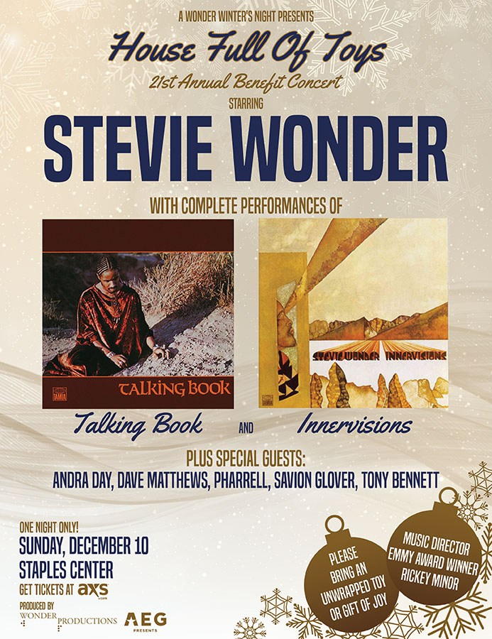 "Stevie Wonder's 21st annual ""House Full of Toys"" Benefit Concert"