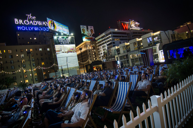LA's Rooftop Cinema Club to Commence Its 4th Season on 4/4