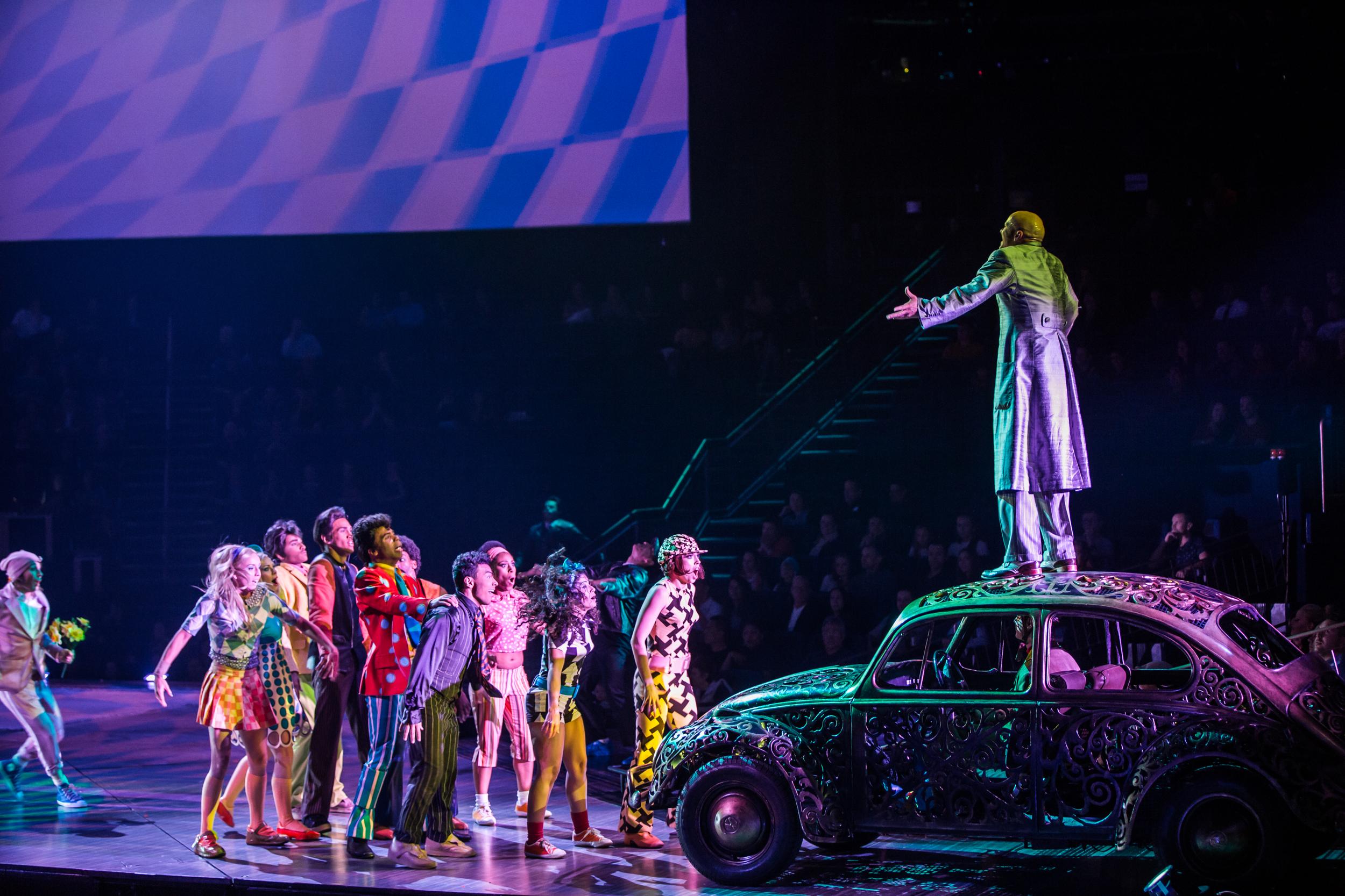 """The Beatles LOVE"" by Cirque du Soleil"