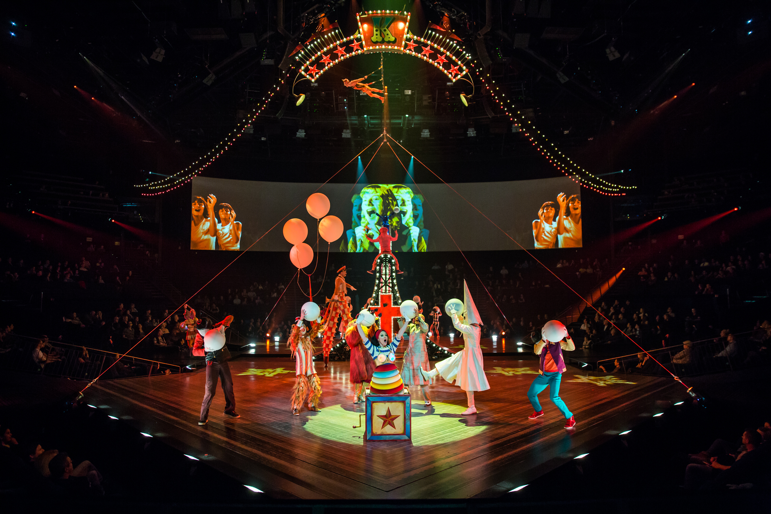 """The Beatles LOVE"" by Cirque du Soleil"