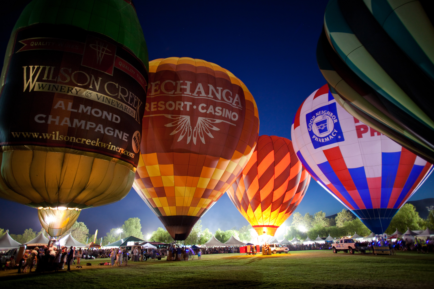 The 35th Annual Temecula Valley Balloon & Wine Festival