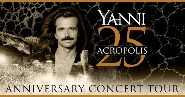 """""""Yanni 25 — Live at the Acropolis World Tour"""""""