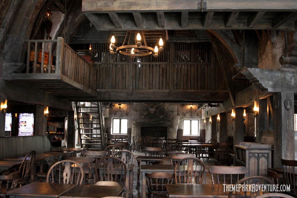 Jeep San Diego >> Inside Three Broomsticks Restaurant | LAexcites.com