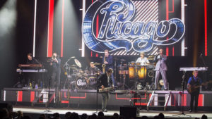 The nine members of Chicago prove that their sum is greater than their individual parts. Photo credit: Rick Kern, WireImage