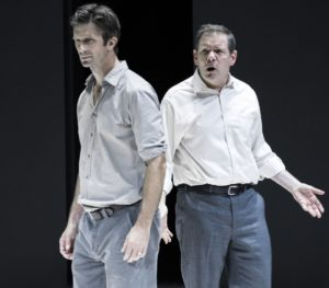 "(L-R) Frederick Weller and Thomas Jay Ryan in Arthur Miller's ""A View from the Bridge,"" directed by Ivo Van Hove. Photo credit: Jan Versweyveld"