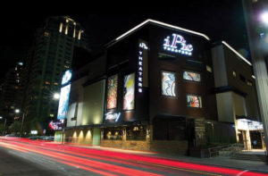 A street-side view of iPic Theatres in Westwood, CA. Photo courtesy of iPic Theatres
