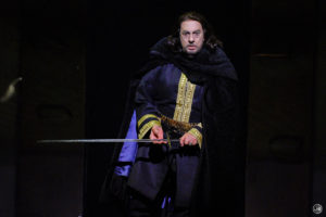 "The prolific living legend, Plácido Domingo, as the title character in Giuseppe Verdi's ""Macbeth."" Photo credit: Karen Almond and LA Opera"