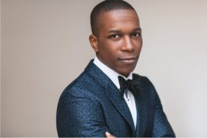 """Leslie Odom, Jr. performed many jazz tracks and three hit songs from the extraordinarily acclaimed musical, """"Hamilton,"""" for which he won Best Actor for at the 2016 Tony Awards. Photo credit: Christopher Boudewyns"""