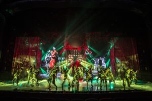 "Cirque du Soleil's ""Michael Jackson ONE"" at the Mandalay Bay Resort and Casino in Las Vegas, NV."