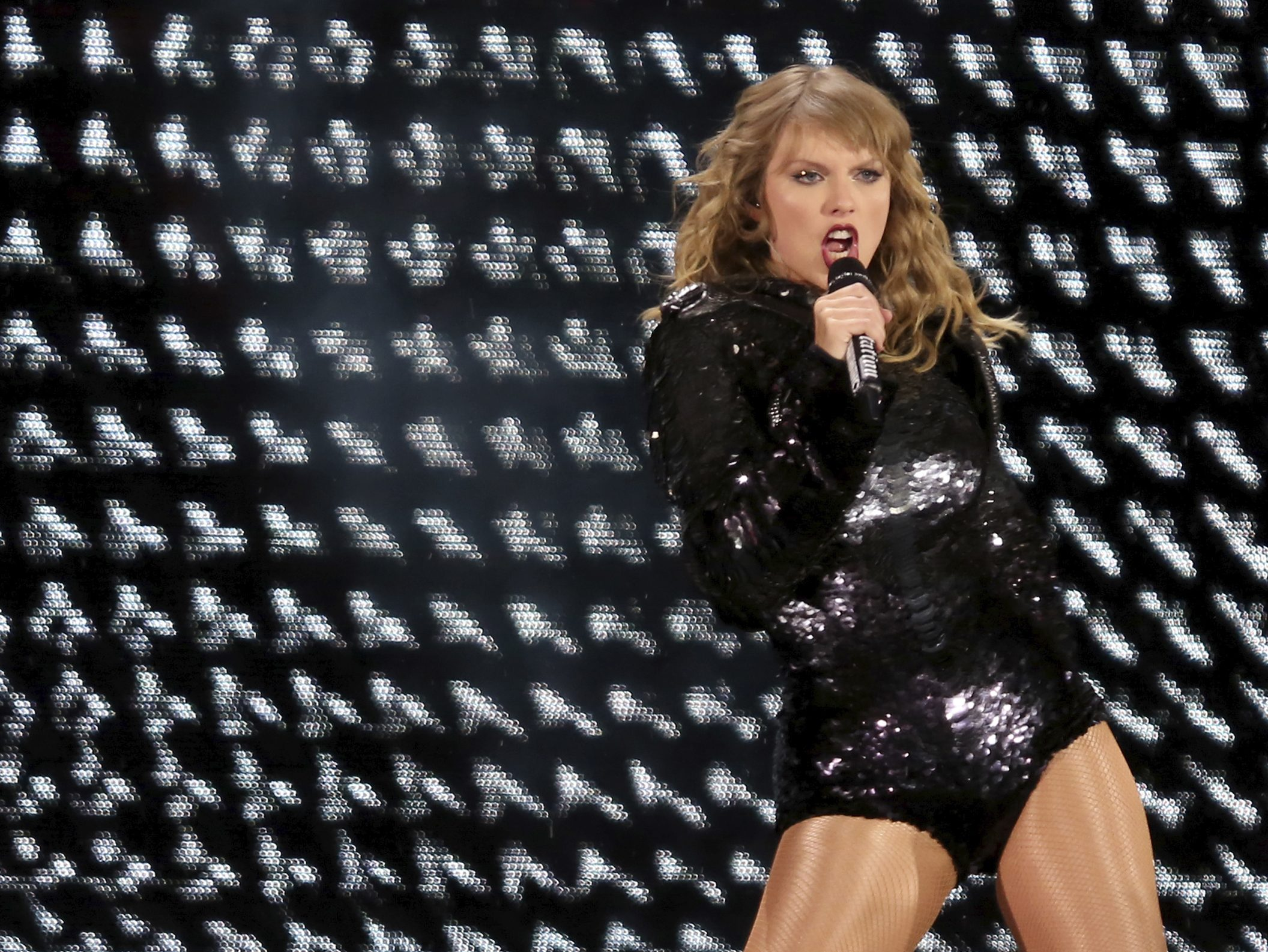 Taylor Swift Is Remarkable During Her Reputation Stadium
