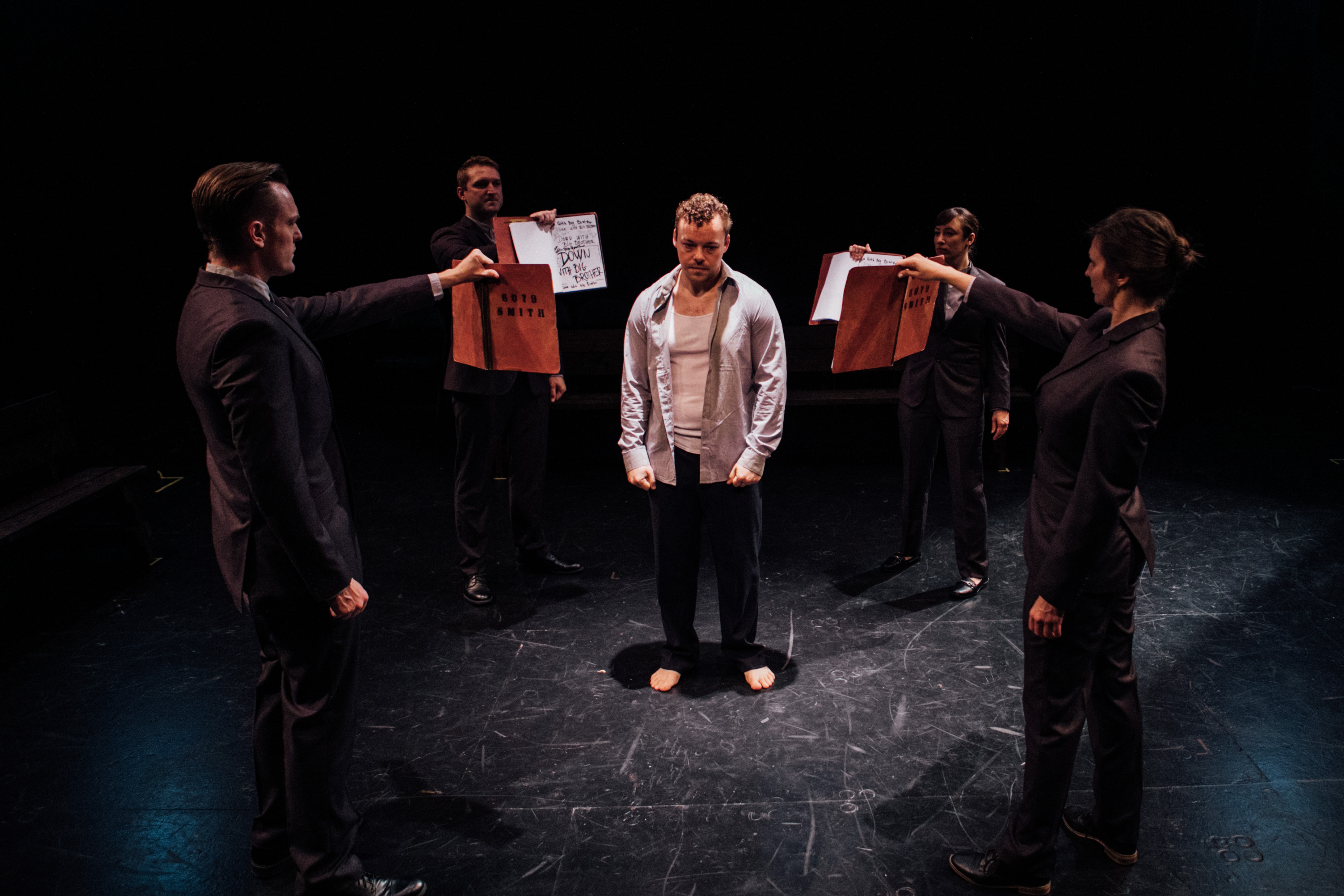 """The Actors' Gang's Production of George Orwell's """"1984"""""""