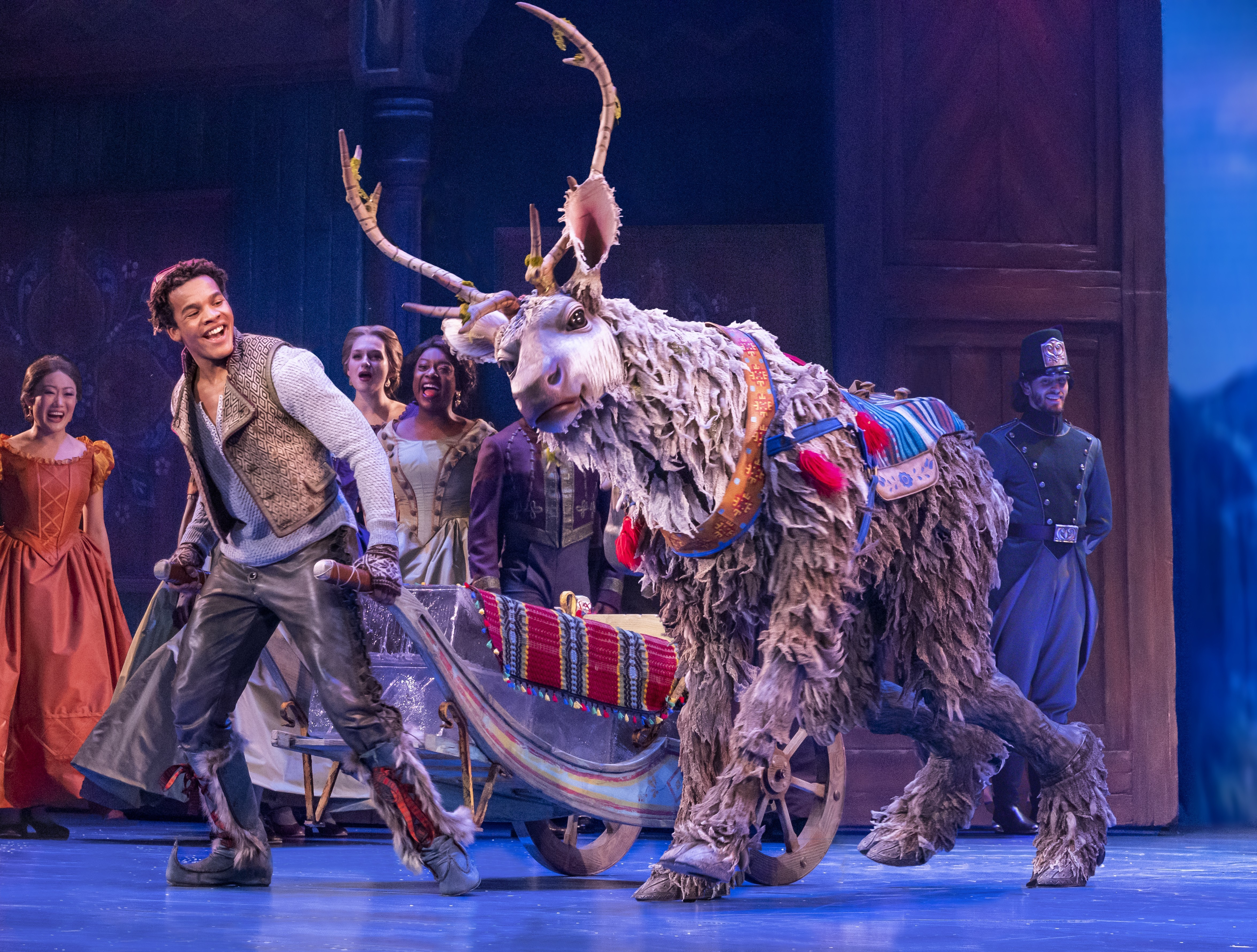 """The North American Tour of Disney's """"Frozen,"""" the Musical"""