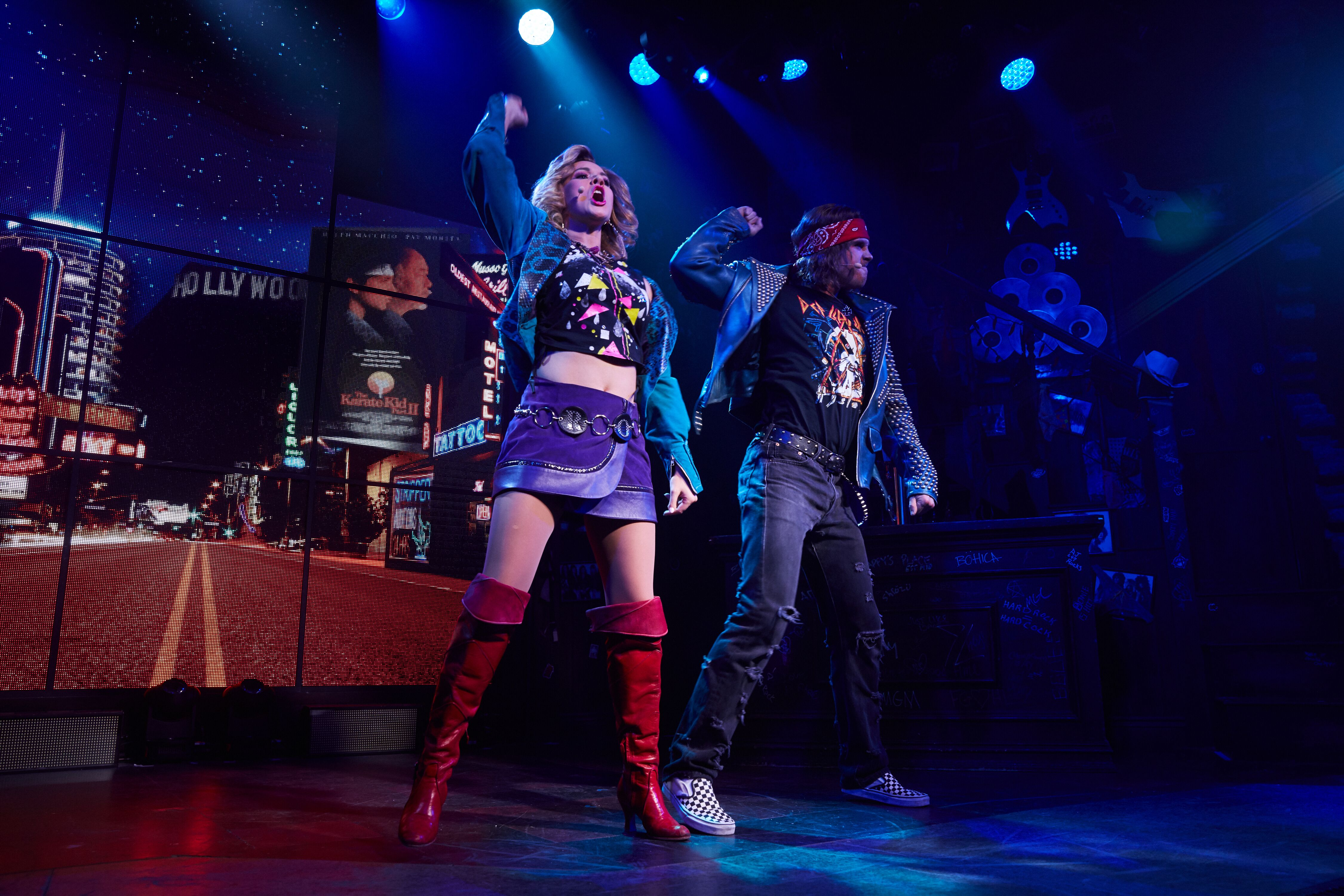 """Rock of Ages"" at the Bourbon Room in Hollywood, CA"