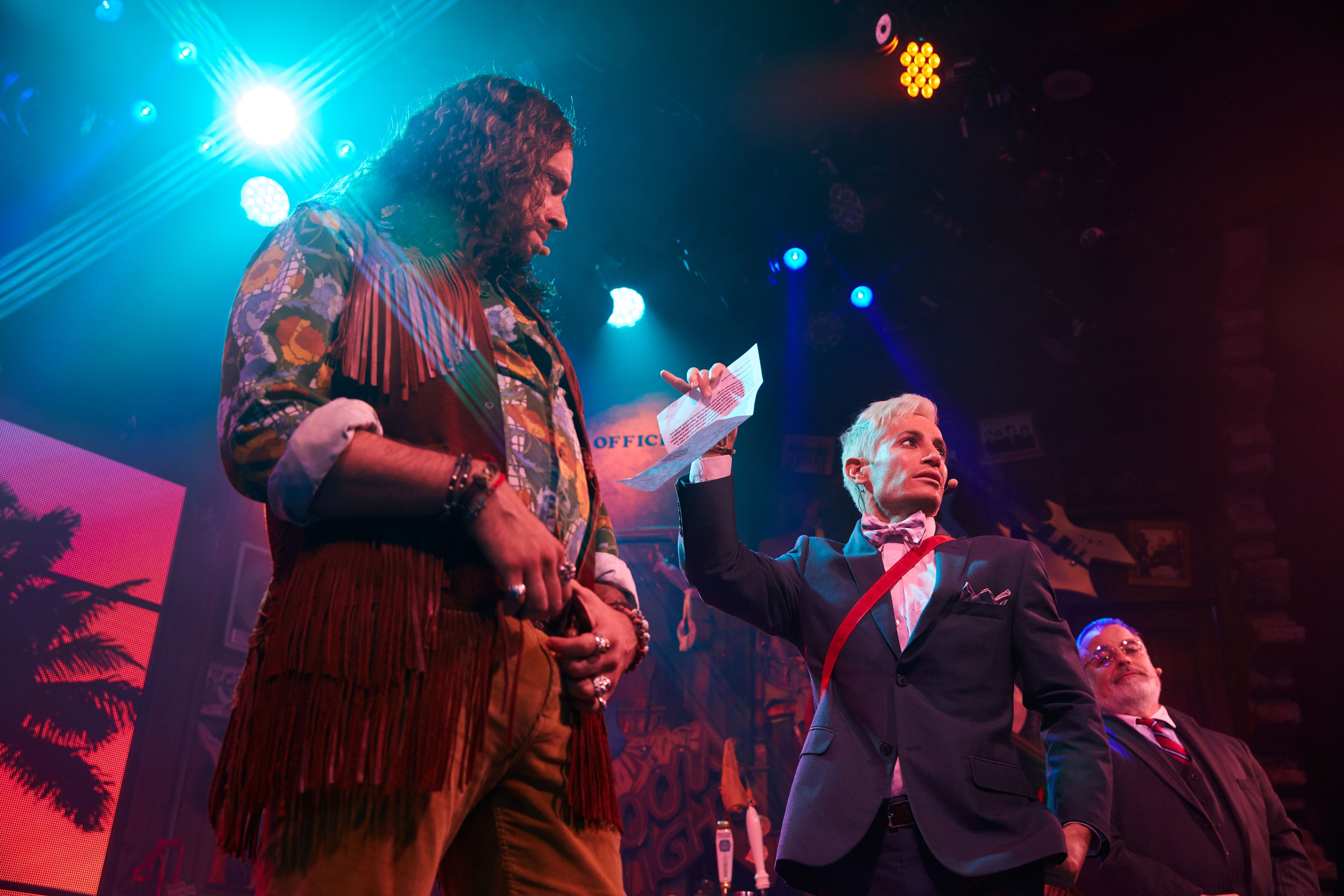 """""""Rock of Ages"""" at the Bourbon Room in Hollywood, CA"""