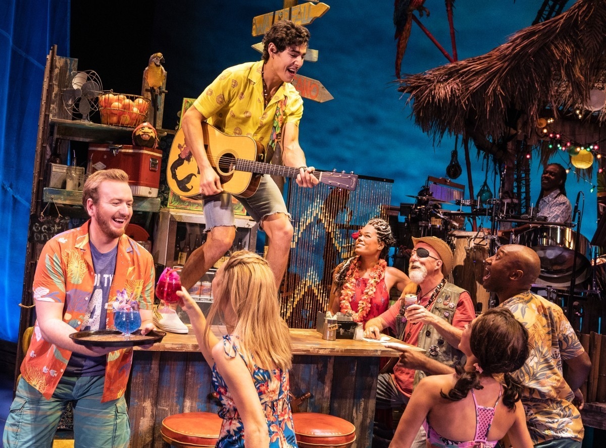 """The national tour of Jimmy Buffett's """"Escape to Margaritaville"""""""